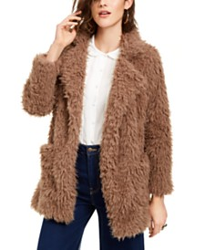 Sage The Label Penny Lane Shaggy Faux-Fur Coat