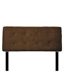 Bella Adjustable Upholstered Headboard, Queen Size
