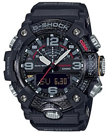 Men's Analog-Digital Connected Mudmaster Black Resin Strap Watch 53.1mm