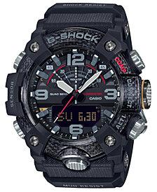 G-Shock Men's Analog-Digital Connected Mudmaster Black Resin Strap Watch 53.1mm