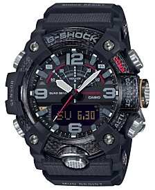 G-Shock Men's Analog-Digital Connected Mudmaster Black Resin Strap Watch 53.1mm