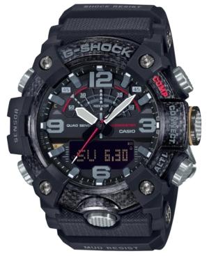 Men's Analog-Digital Connected Mudmaster Black Resin Strap Watch 53.1mm