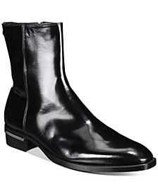 Men's Side Zipper Dress Ankle Boots