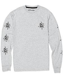 Volcom Big Boys Family Stones Logo-Print Cotton T-Shirt