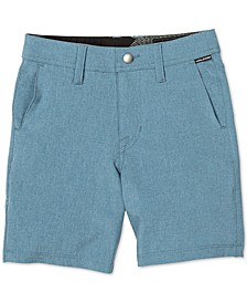 Toddler & Little Boys Surf N' Turf Static Shorts