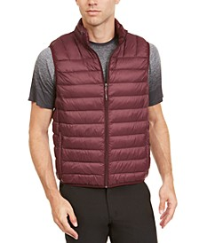 Men's Packable Down Blend Puffer Vest
