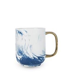 Twine Seaside Marbled Ceramic Mug