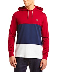 Men's Colorblocked T-Shirt Hoodie