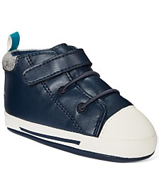 First Impressions Baby Boys Star Sneakers, Created For Macy's