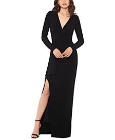 V-Neck Gown