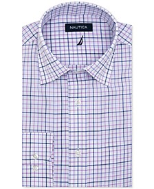 Men's Classic-Fit Motion-Ease Collar Plaid Dress Shirt