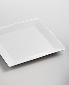 Whiteware Square Dinner Plate, Created for Macy's