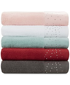 Rhinestone Starburst Bath Towel Collection