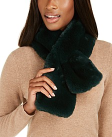 INC Faux-Fur Stole, Created For Macy's