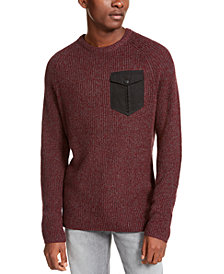 American Rag Men's Crewneck Pocket Sweater, Created For Macy's