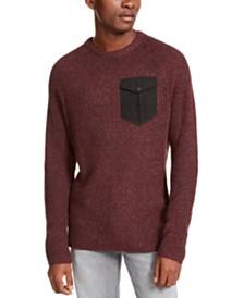 American Rag Men's Crewneck Pocket Sweater, Created For Macy's
