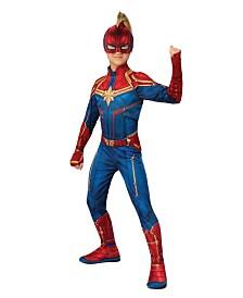 BuySeasons Girl's Captain Marvel Hero Suit Child Costume
