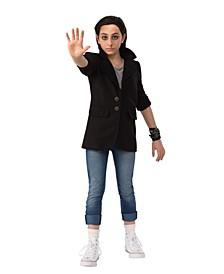 "Toddler Girl's Stranger Things 2 Kids Eleven's ""Punk Look"" Deluxe Child Costume"