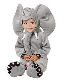 Big Boys and Girls Little Elephant Infant-Toddler Costume