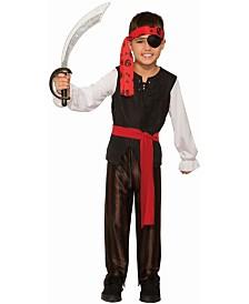BuySeasons Boy's Renegade Pirate Boy Child Costume