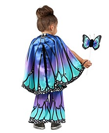 Baby Girl's Butterfly Cape Child Costume