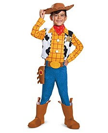 Toddler, Little and Big Boy's Toy Story 4 - Woody Deluxe Costume