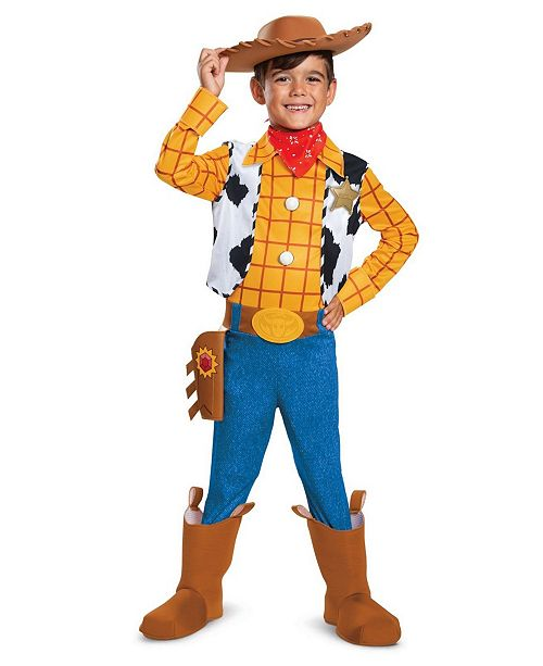 BuySeasons Toddler, Little and Big Boy's Toy Story 4 - Woody Deluxe Costume