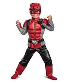Big Child Ranger Beast Morpher Muscle Costume