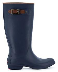 Women's City Solid Tall Rain Boot