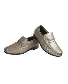 Men's Napa Leather Dress Shoe with Comfort Sole