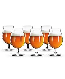 15.5 Oz Beer Tulip Glass Set of 6