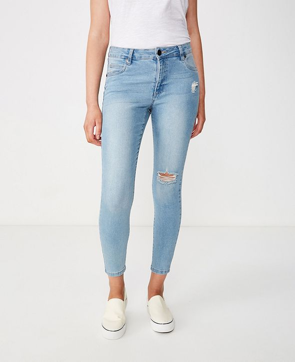 COTTON ON Mid Rise Grazer Skinny Jean