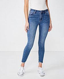 Cotton On Mid Rise Grazer Skinny Jean