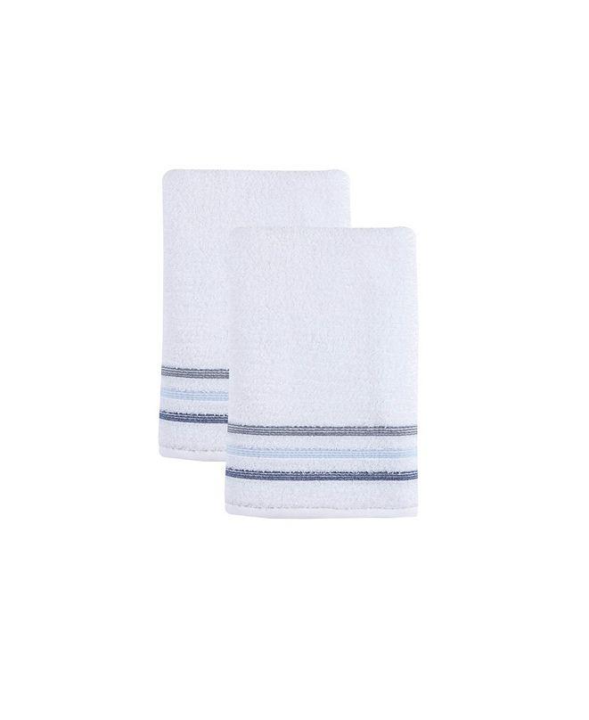 OZAN PREMIUM HOME Bedazzle Bath Towel 2-Pc. Set