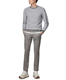 BOSS Men's Avivio Regular-Fit Wool-Cotton Sweater