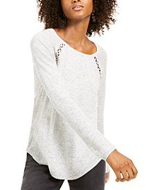 INC Peekaboo Grommet Sweater, Created For Macy's