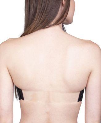 clear sports bra