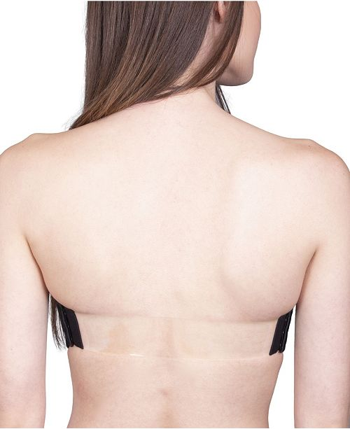 "THE BRA LAB ""Capri Clear Back"" Multiway, Interchangeable Back Strap"