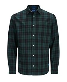 Jack & Jones Men's Autumn Long Sleeved Check Shirt