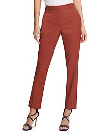 Fixed-Waist Skinny Pants