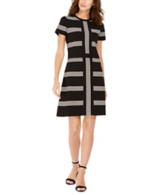 Anne Klein Striped Dress