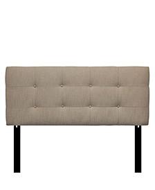 Arcadia Adjustable Upholstered Tufted Headboard, Full Size