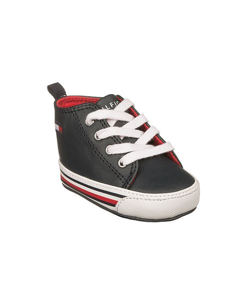 first look sale get new Tommy Hilfiger Infant Unisex Heritage Mid Layette Shoes & Reviews ...