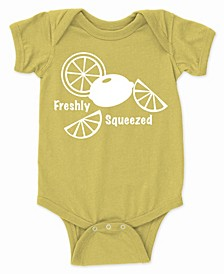 Baby Unisex Freshly Squeezed Funny Bodysuit