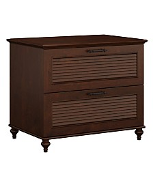 Kathy Ireland Home by Bush Furniture Volcano Dusk Lateral File Cabinet