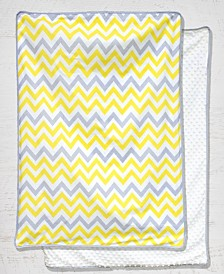 Pam Grace Creations Chevron Sunshine Baby Blanket