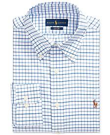 Men's Classic/Regular Fit Easy Care Stretch Striped Dress Shirt