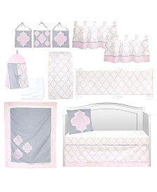 Pam Grace Creations Pretty in Trellis 13 Piece Crib Bedding Set