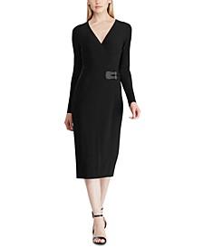 Buckled Jersey Dress
