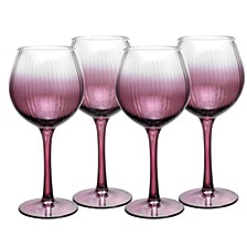 Kingsley Wine Glass, Set of 4